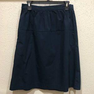 Set of 2 GAP midi skirts. Blue & Beige.